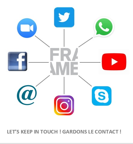 In these troubled times, FRAME ensures the continuity of information sharing by connecting its members throughout Canada, the United States and France.