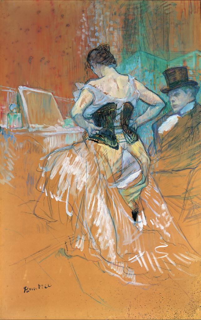 Henri de Toulouse-Lautrec, Conquête de passage, 1896, Musée de Augustins de Toulouse, Mairie de Toulouse, Patrice Nin.
