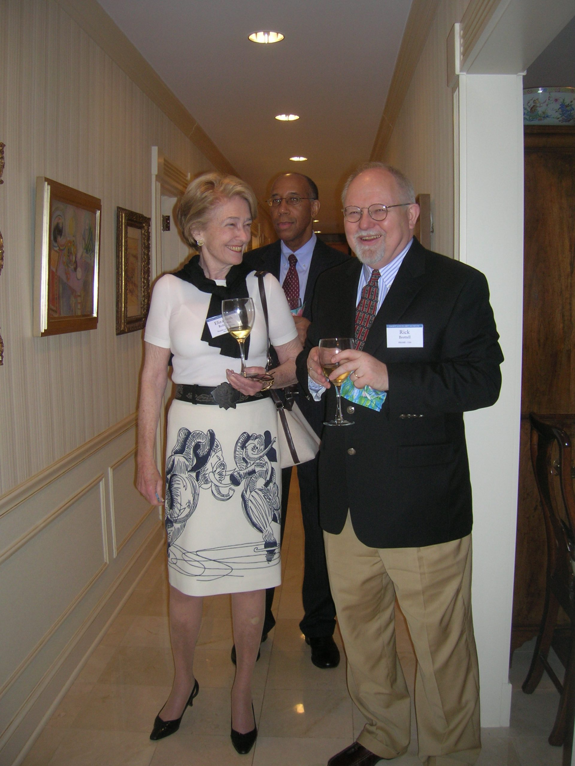 Elizabeth Rohatyn and Rick Brettell, Saint Louis, 2010.